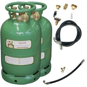 WYNEN 2-Tankflaschensystem 11kg